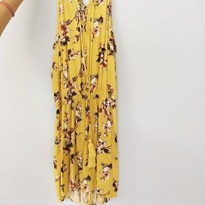 Other - yellow floral romper
